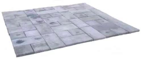 natural concrete products rundle stone gray concrete patio on a pallet paver kit