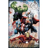 "Marvel Licensed Avengers2 11""x17"" 3d Framed Wall Art ..."
