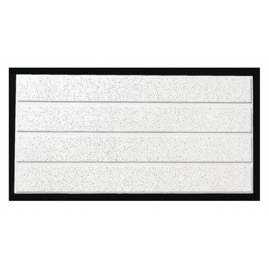 armstrong 1762c fine fissured ceiling tile 24 in w x 48 in l 10 pk 0 5 nrc