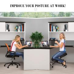 Ergonomic Posture Kneeling Chair Plastic Chairs Covers Holiday Clearance Hifashion Perfect Adjustable Stool For Home And Office