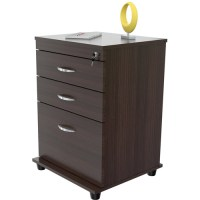 Inval Uffici Collection Commercial Grade 3-Drawer File ...