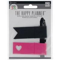 Create 365 Happy Planner Pen Holder 2/Pkg-Pink & Black ...