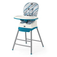 Portable High Chair Chicco Navy Blue Velvet Armchair Uk Stack 3 In 1 Multi Stage Adjustable Highchair Booster Icicle Walmart Com
