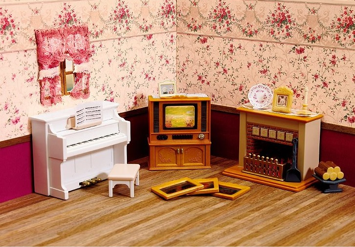 Calico Critters LIVING ROOM ACCESSORIES  Walmartcom
