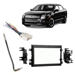 Kenwood Double Din Wiring Diagram 2006 Cbr600rr Harnesses Walmart Com Product Image Fits Ford Fusion 2009 Stereo Harness Radio Install Dash Kit