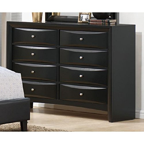 Classic Rubber Wood Dresser With 8 Drawers  Walmartcom