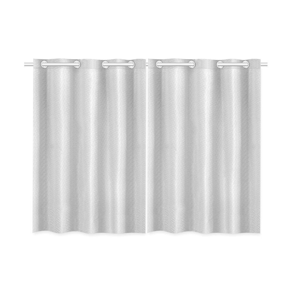 mkhert modern minimalist solid grey window curtains kitchen curtain room bedroom drapes curtains 26x39 inch 2 piece