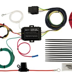 hopkins towing solution 11140504 plug in simple vehicle to trailer wiring harness incl short proof power converter walmart com [ 1500 x 925 Pixel ]