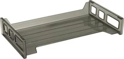 Stackable Desk Tray SideLoad LegalSize Smoke