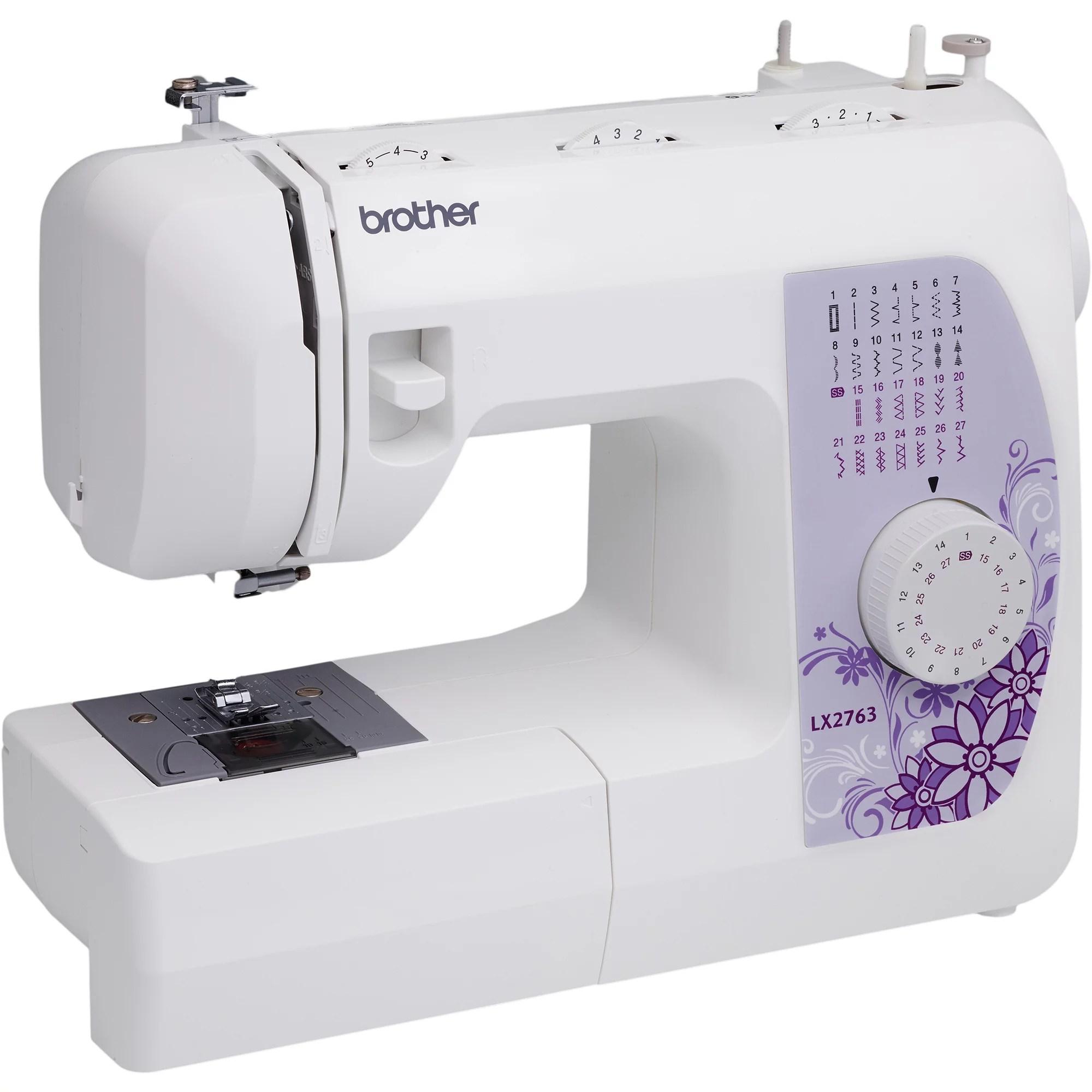 Brother 27Stitch Sewing Machine Drop In Bobbin Portable