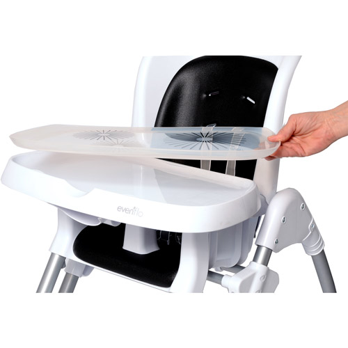 evenflo modern 200 high chair giraffe print 300 highchair black walmart com