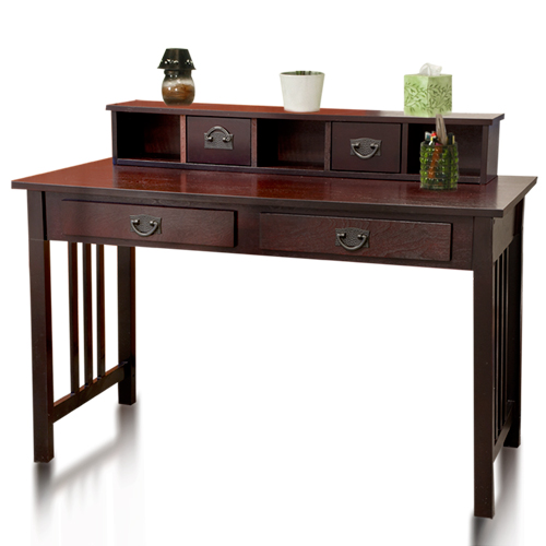 Best Choice Products Writing Desk Mission Cherry Home