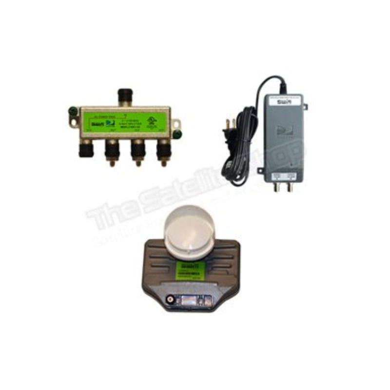 directv without swm single phase 208 wiring diagram sl3s lnb kit with power and splitter walmart com