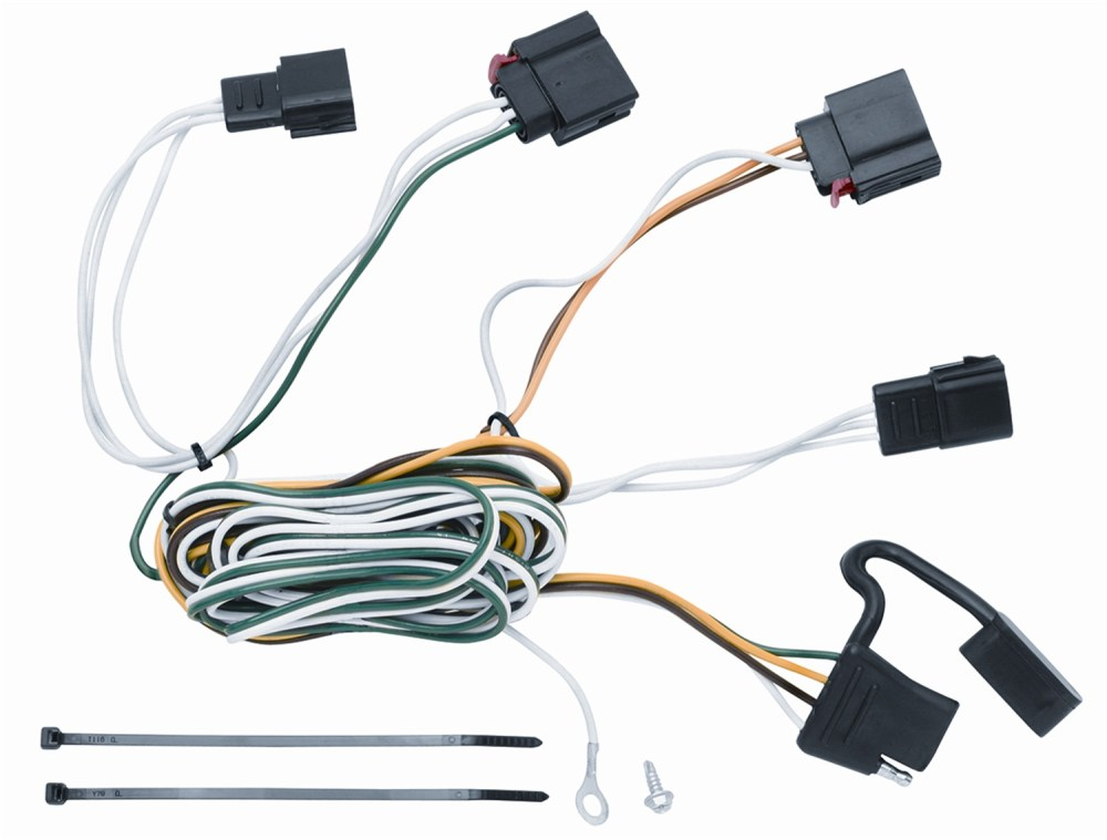 medium resolution of vehicle to trailer wiring harness connector for 07 12 jeep grand cherokee walmart com