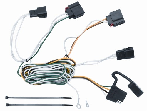 small resolution of vehicle to trailer wiring harness connector for 07 12 jeep grand cherokee walmart com