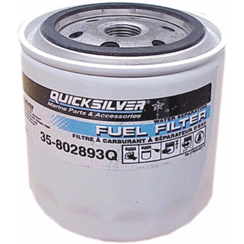medium resolution of quicksilver 802893q01 water separating fuel filter walmart com rh walmart com marine fuel water separator installation inline fuel water separator