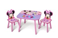 Disney - Minnie Mouse Activity Table and Chairs Set ...