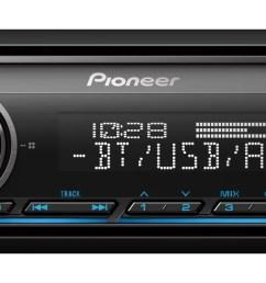 pioneer mxt s3166bt digital media receiver speaker bundle w bluetooth walmart com [ 1500 x 540 Pixel ]