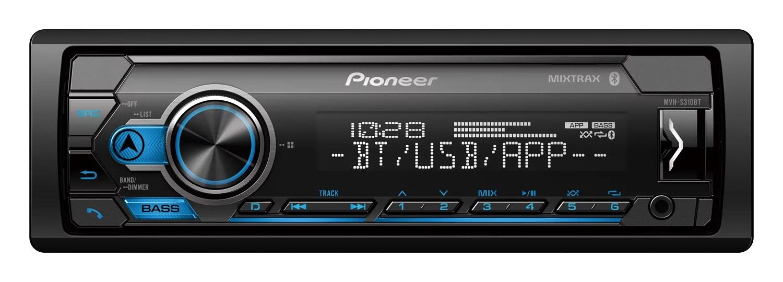 hight resolution of  pioneer mxt s3166bt digital media receiver speaker bundle w bluetooth walmart com