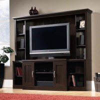 Sauder Cinnamon Cherry Entertainment Center for TVs up to ...