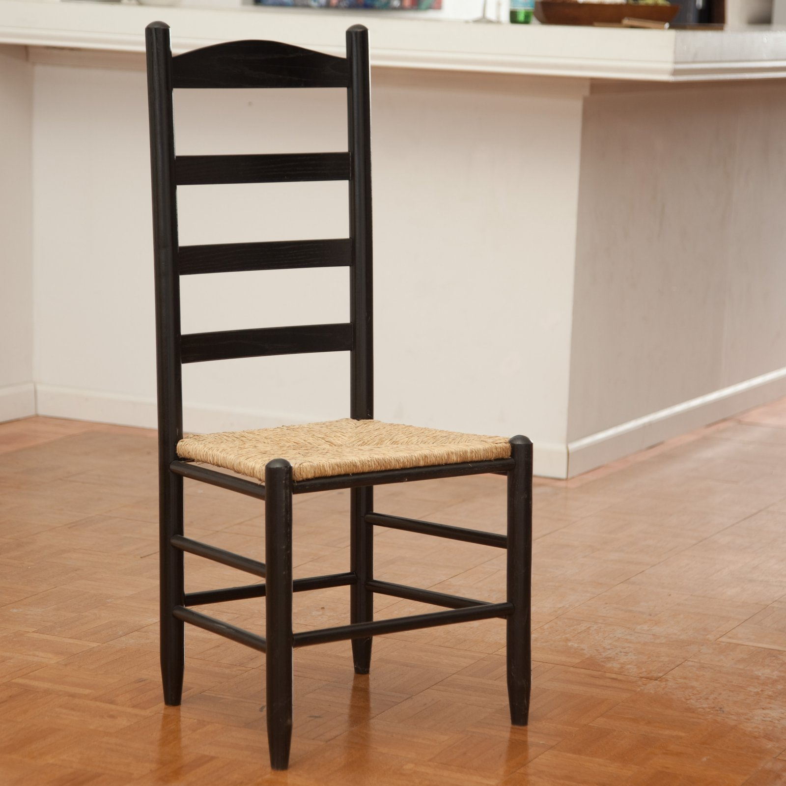 shaker ladder back chair used inada massage dixie seating morrisette style dining walmart com