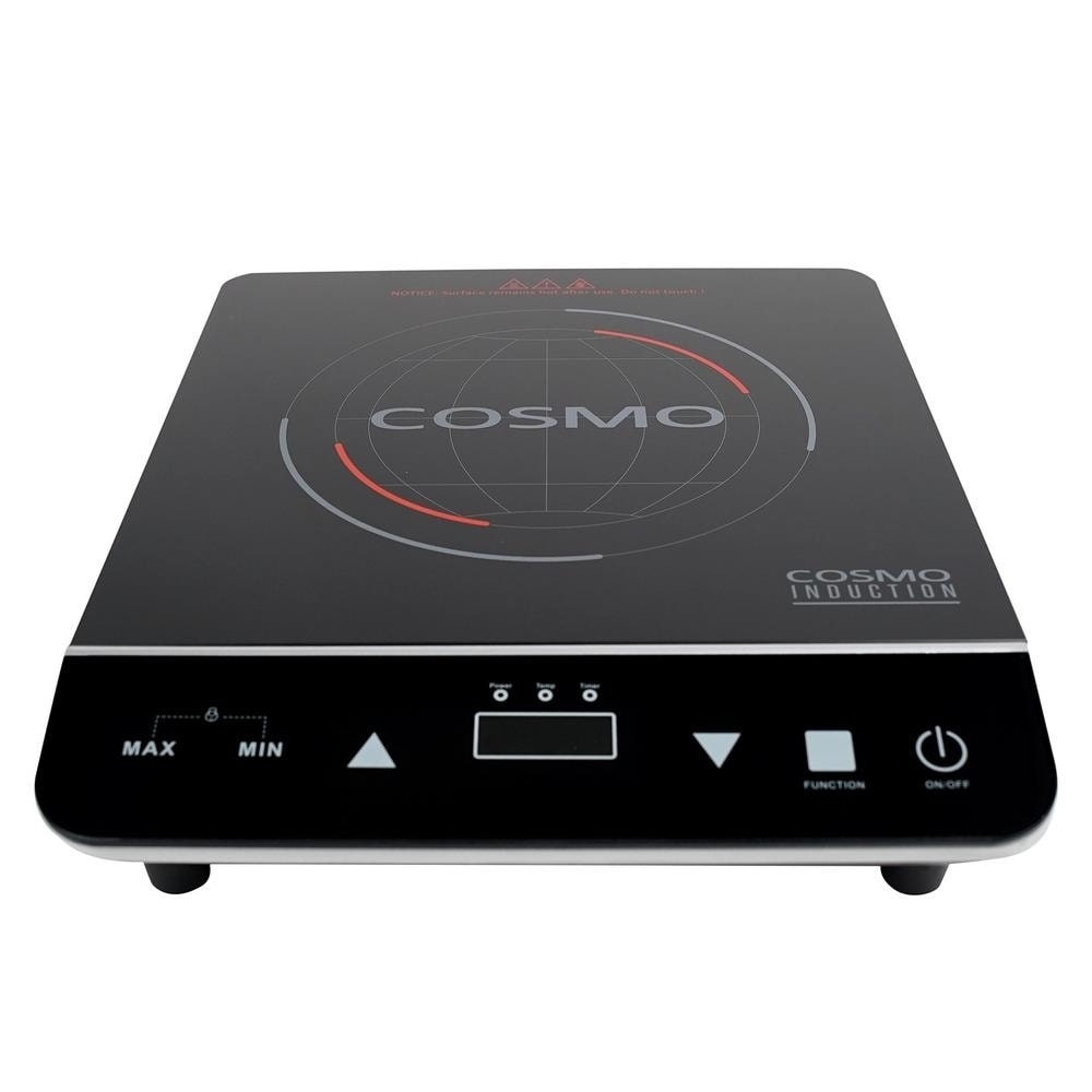 Cosmo 11 5 In Portable Induction Cooktop In Black With 1 Element Including Rapid Heating Walmart Com Walmart Com