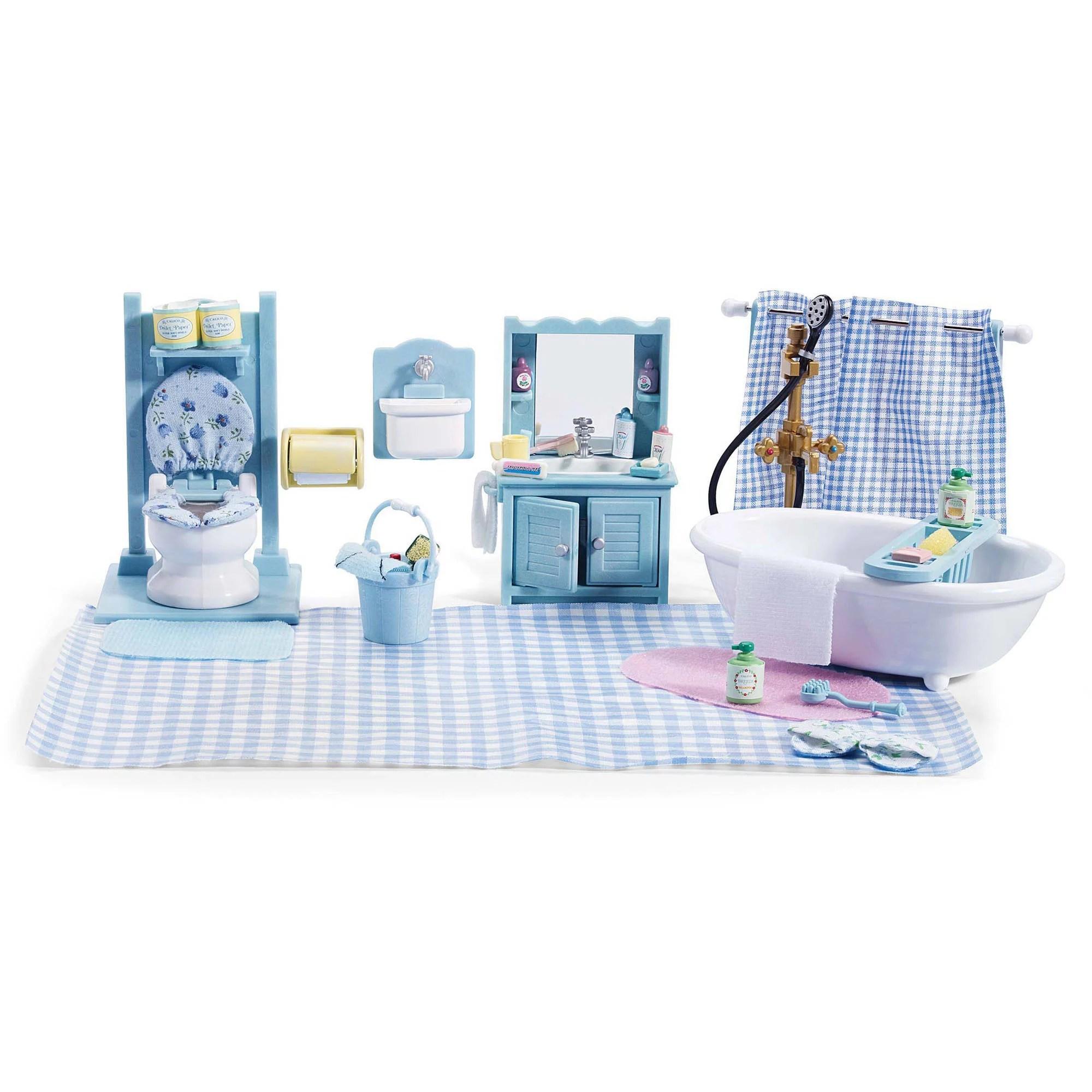 International Playthings Calico Critters Master Bathroom