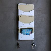 Wallniture Hanging Steel Wall File Folder Mail Sorter ...