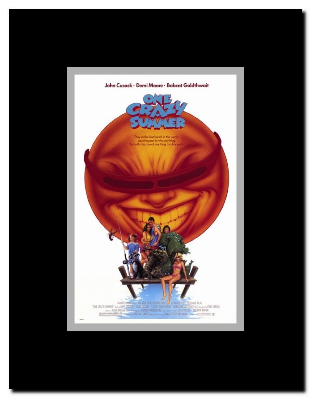 One Crazy Summer Framed Movie Poster