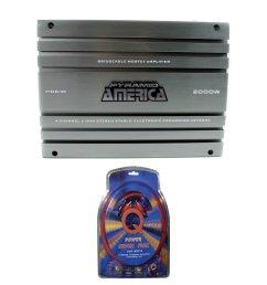 pyramid 2000 watt 4 channel mosfet amplifier 4 gauge amplifier wiring kit walmart com [ 2000 x 2000 Pixel ]