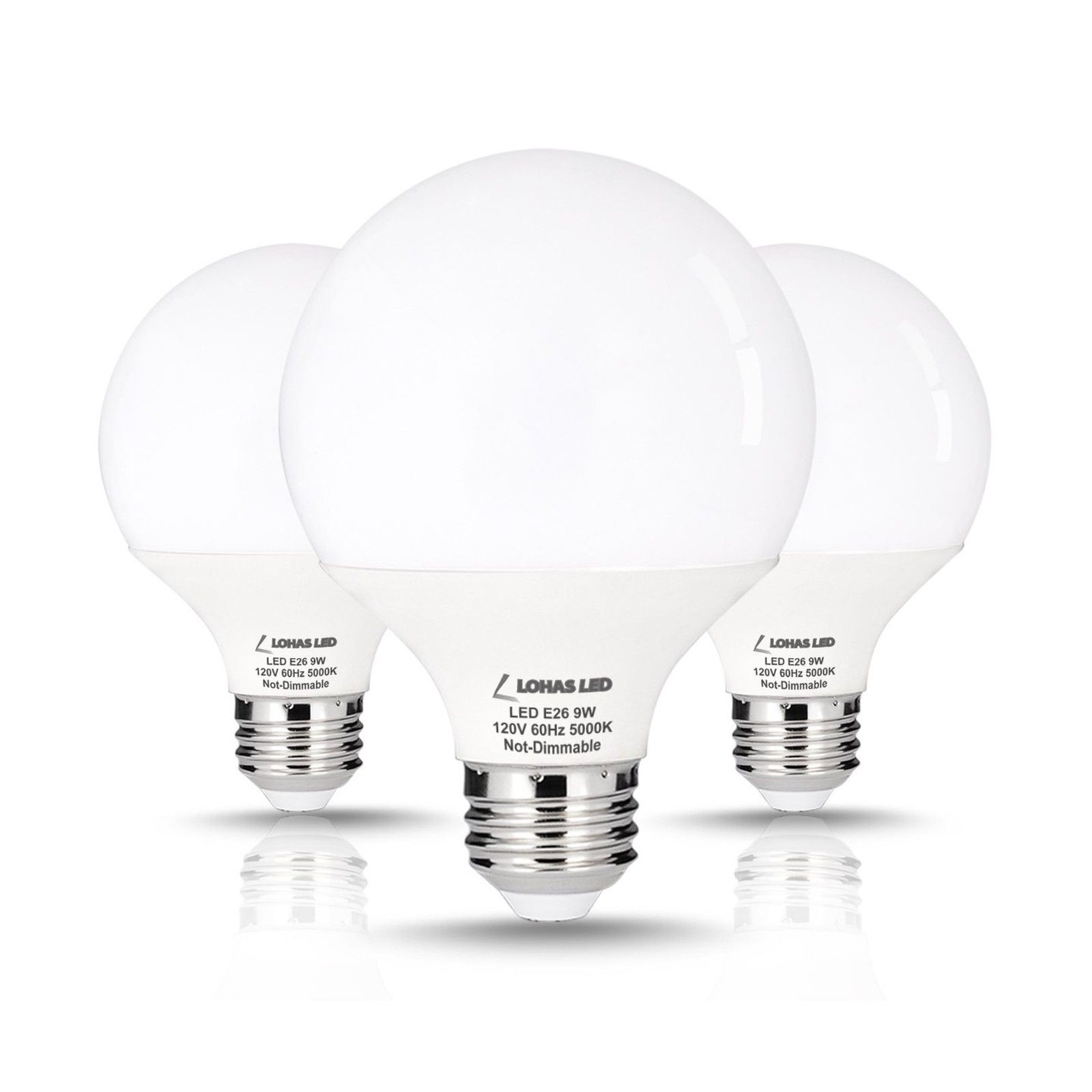 Lohas 9 Watt Led Globe Bulb G25 Led Bulbs 60watt Vanity