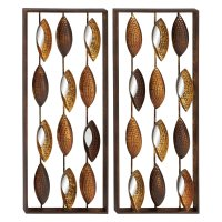 Decmode Metal Mirror Wall, Multi Color - Walmart.com