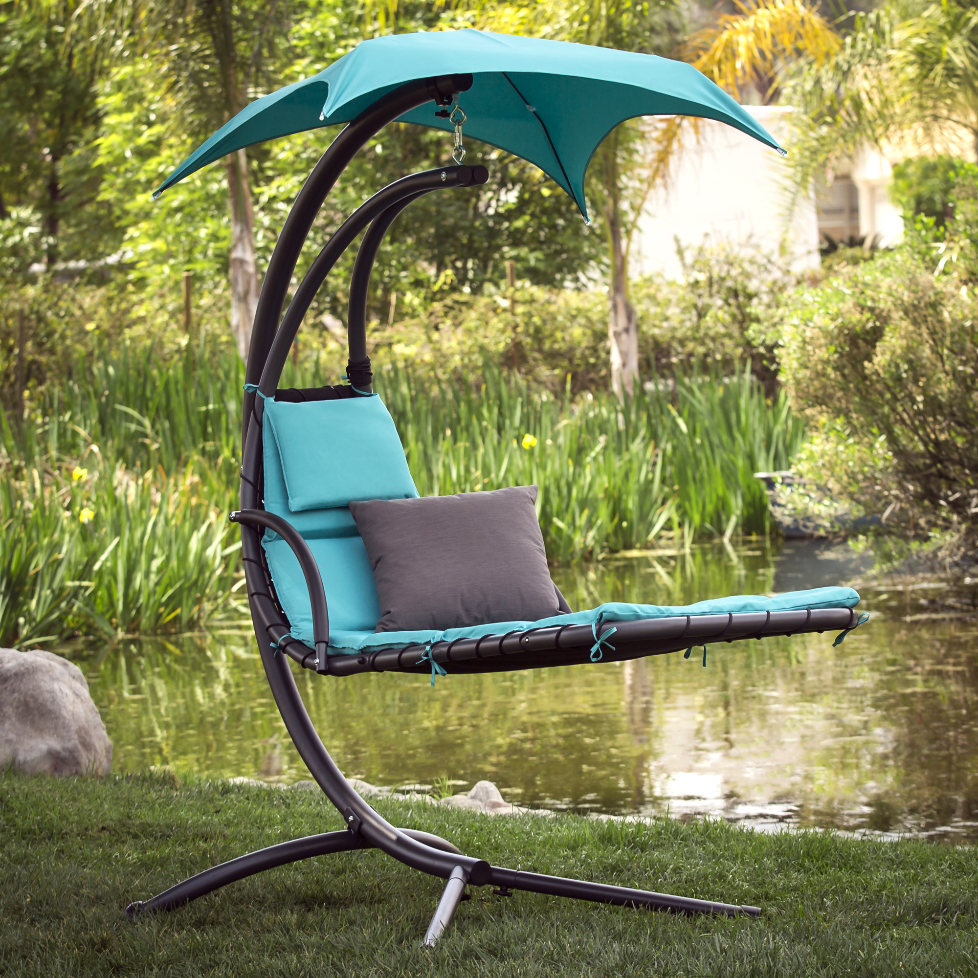 hammock chair with canopy hanging very best choice products chaise loung walmart com