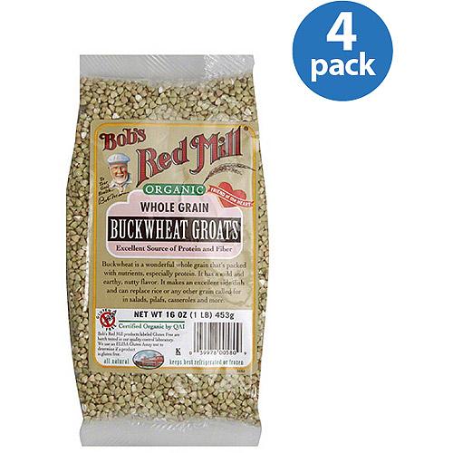 Bob39s Red Mill Organic Whole Grain Buckwheat Groats 16 oz