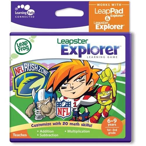 Leapfrog Explorer Leappad Learning Game Nflrush Zone