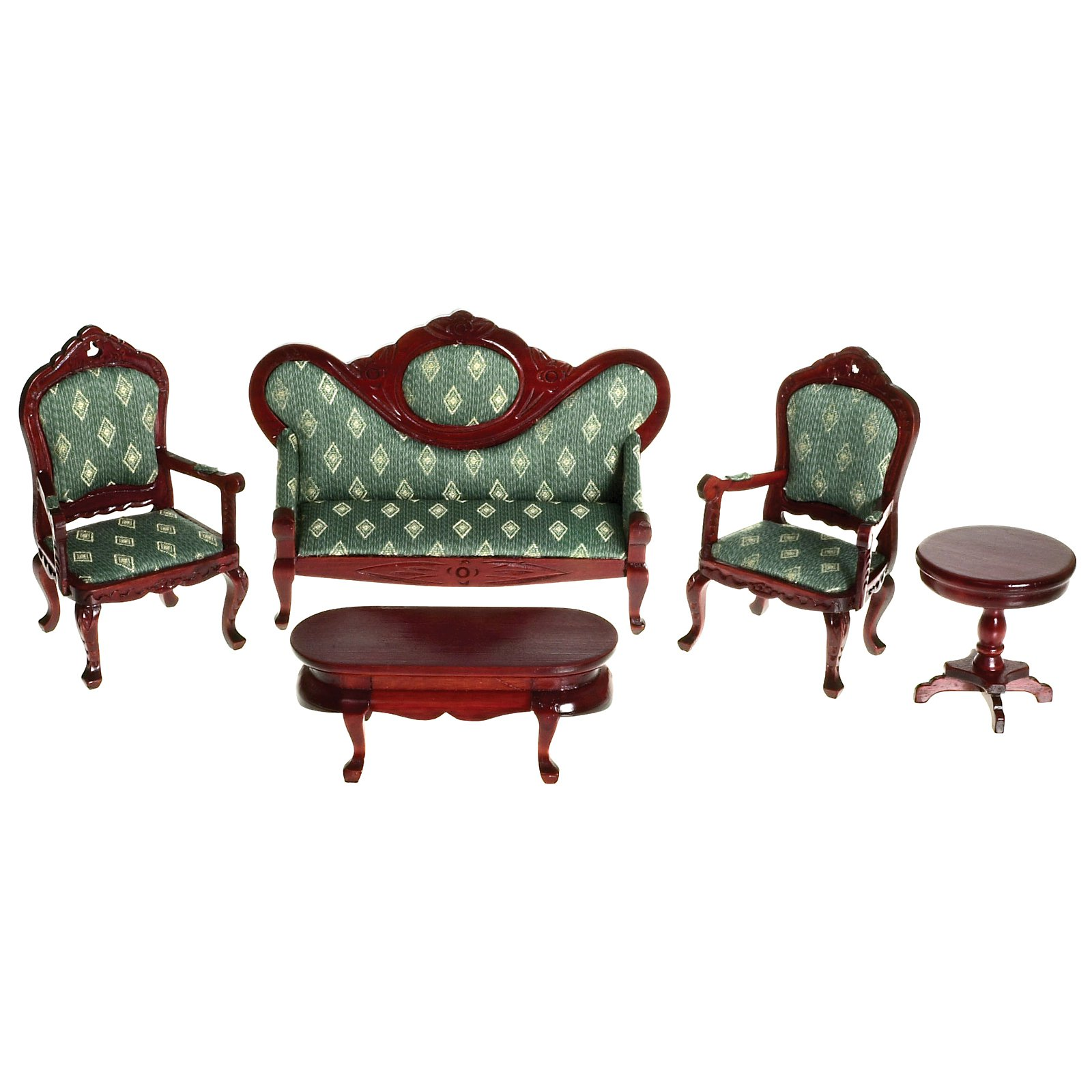 Living Room Set Dollhouse Furniture 1 12 Scale T6235