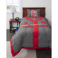 MLB St. Louis Cardinals Twin Bedding Comforter Set