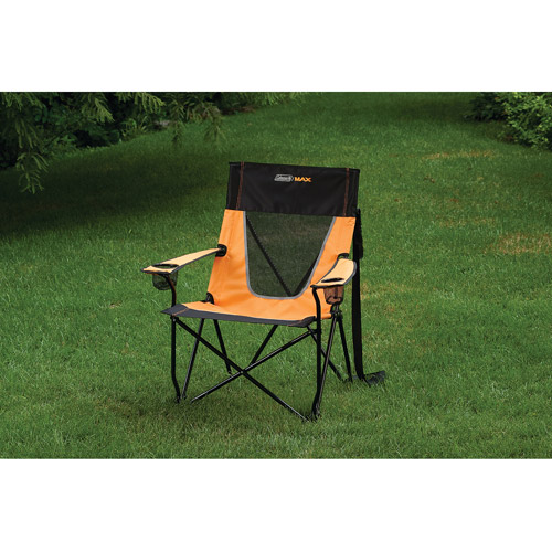 coleman max camping chair best high for bar height table ultimate comfort sling - walmart.com