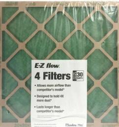 flanders 20 x 25 x 1 precisionaire nested glass air filter walmart com [ 2297 x 2232 Pixel ]