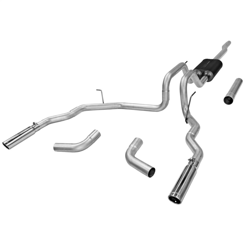 flowmaster 817418 cat back exhaust system fits 2004 08 ford f 150 force ii walmart com