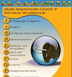 Math Mammoth Grade 7 Review Workbook - Walmart.com - Walmart.com [ 1360 x 1051 Pixel ]