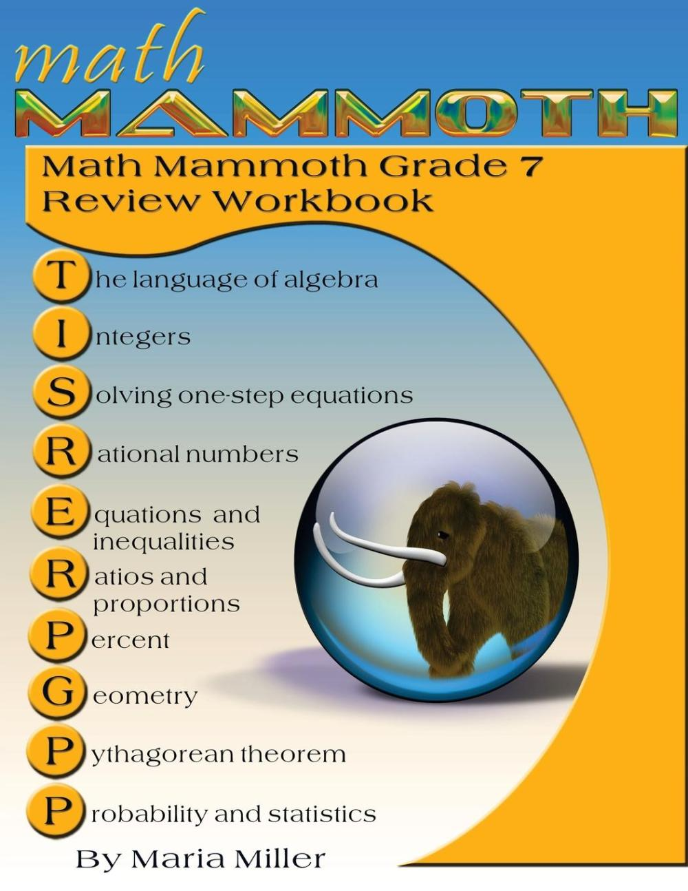 medium resolution of Math Mammoth Grade 7 Review Workbook - Walmart.com - Walmart.com