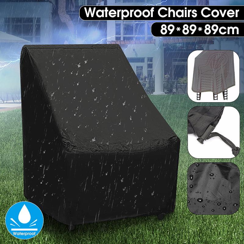 outdoor patio furniture covers waterproof chair dust rain cover outdoor garden patio furniture protection 89x89x89cm