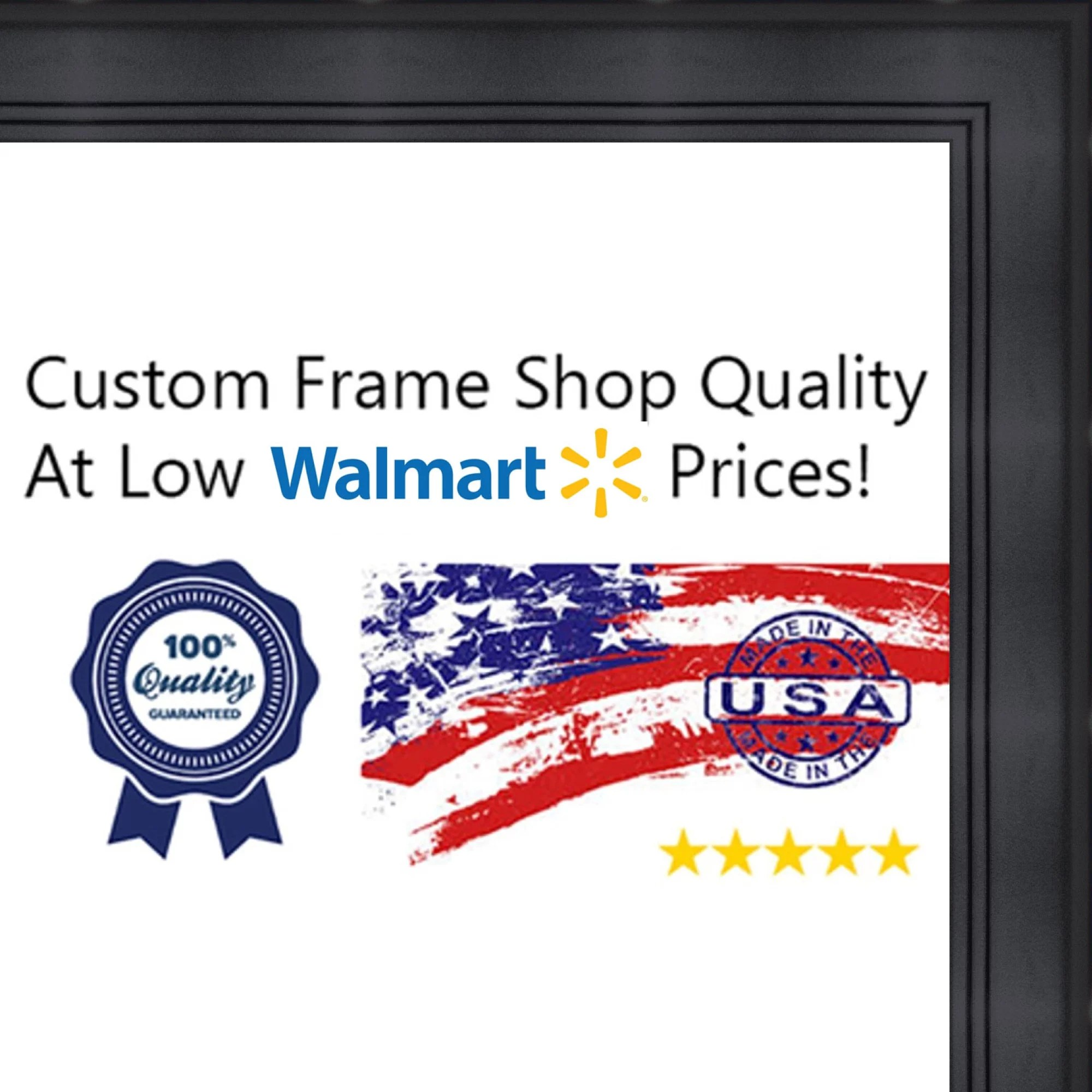 30x40 30 x 40 contemporary black solid wood frame with uv framer s acrylic foam board backing great for a pho