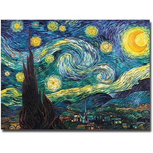trademark fine art starry