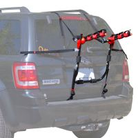 Scout 3-Bike Trunk Mounted Bicycle Carrier Rack - Walmart.com