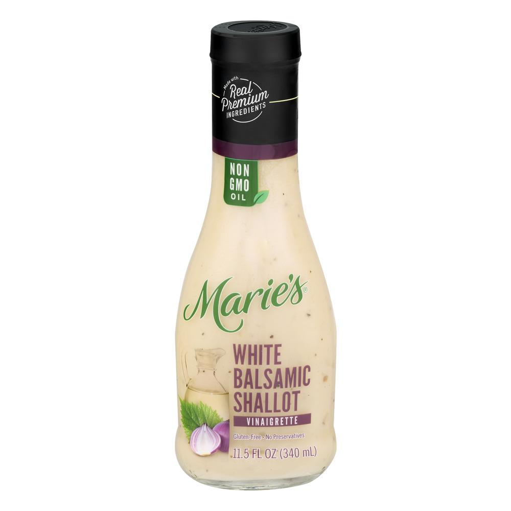 Maries White Balsamic Shallot Vinaigrette 115 FL OZ