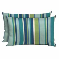 Better Homes and Gardens Outdoor Patio Lumbar Pillow, Set ...