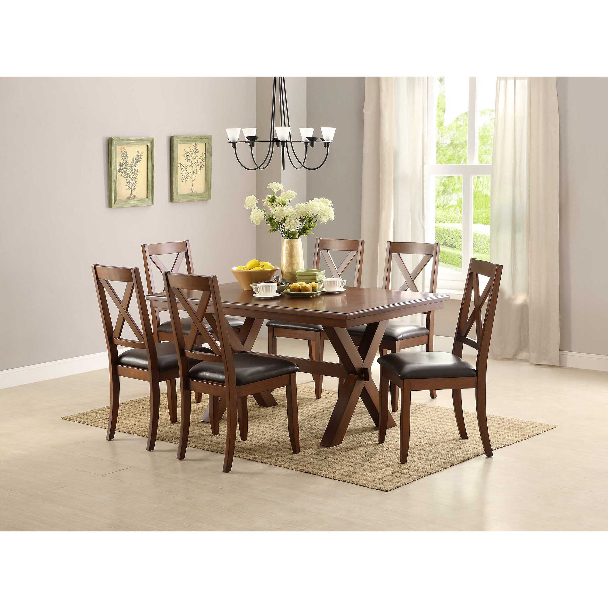 2 chair dining set wheelchair zipline better homes gardens maddox crossing of brown walmart com