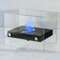 Costway Tabletop Fireplace Portable Ventless Firepit Bio ...
